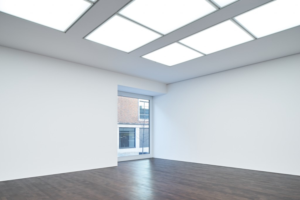 Gagosian Mayfair, main gallery space
