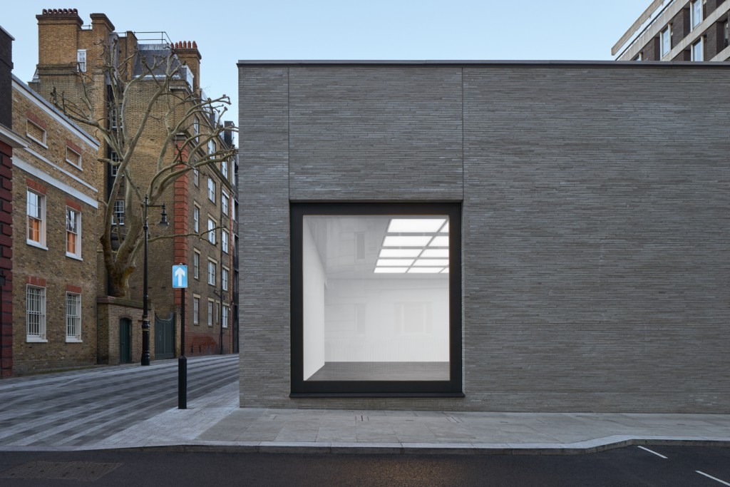 Gagosian Mayfair, exterior