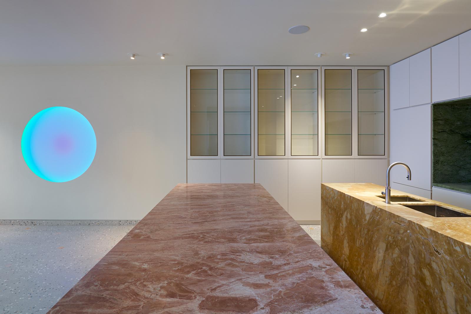 Gabriel Chipperfield, interior, kitchen, James Turrell